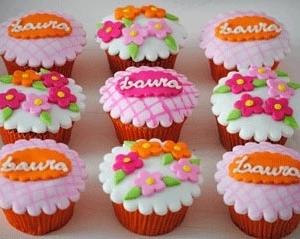 cupcakexadrezeflores